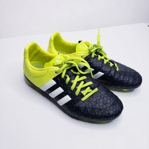 Adidas Yellow & Black Kids Outdoor Soccer Cleats 5
